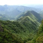 奈良県の大峰山系「稲村ケ岳」