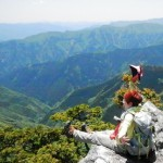 奈良県、大普賢岳
