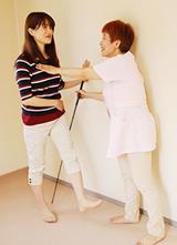 大阪でウォーキング指導によりインナーマッスルも鍛えられます。