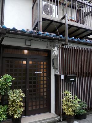 大阪市天王寺区のヒーリング整体院の外観