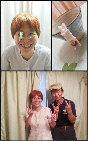 大阪のヒーリング整体院で目の痛みへのセラピーでした